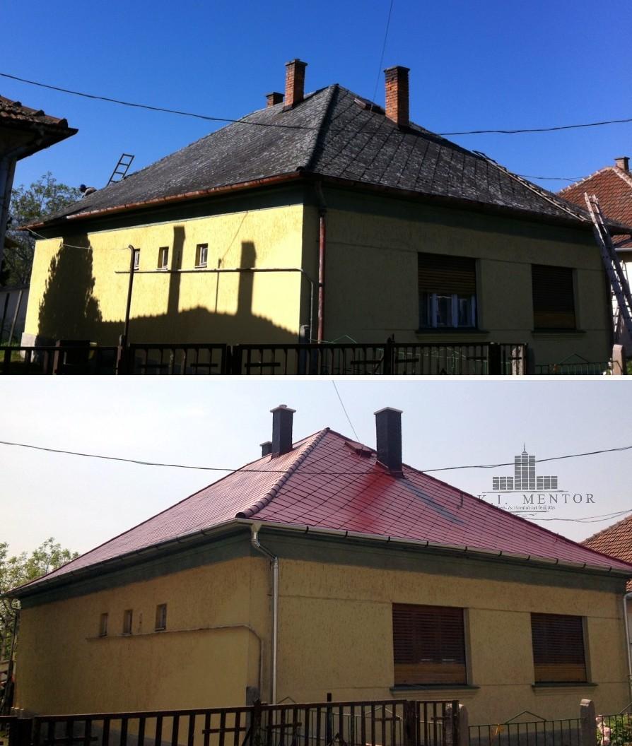 Palatető festés házilag